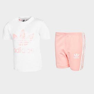 adidas Originals Girls' T-Shirt/Cycle Shorts Set Baby's