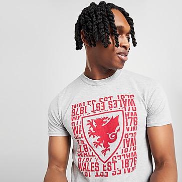 Official Team Wales 1876 Short Sleeve T-Shirt Heren