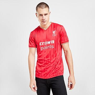 Liverpool FC 86 Home Short Sleeve Shirt Heren