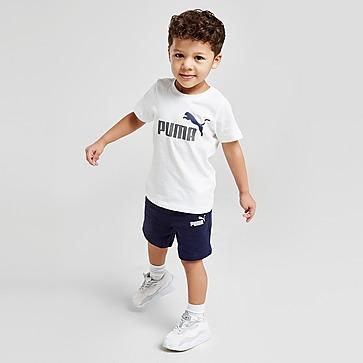 Puma Essential Logo T-Shirt/Shorts Set Baby's
