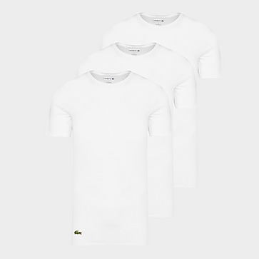 Lacoste 3 Pack Lounge T-shirts Heren
