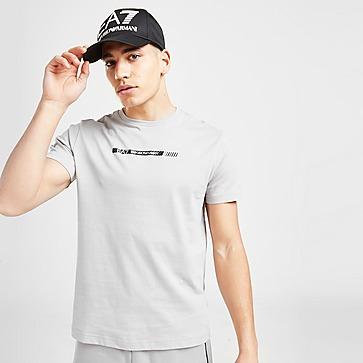 Emporio Armani EA7 Carbon Stripe T-Shirt Heren