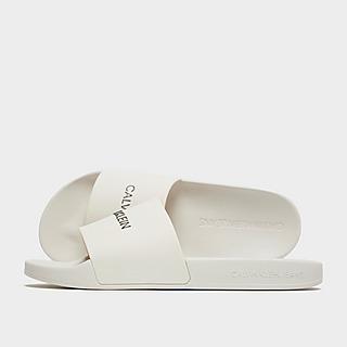 Calvin Klein Script Slippers Dames