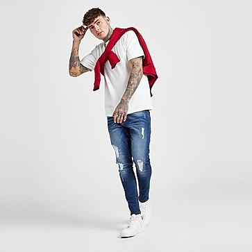 VALERE Skinny Ripped Jeans Heren
