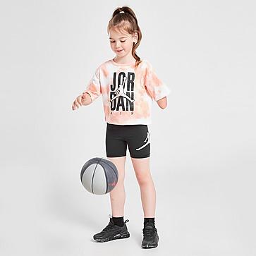 Jordan Girls' Tie-Dye T-Shirt/Shorts Set Children