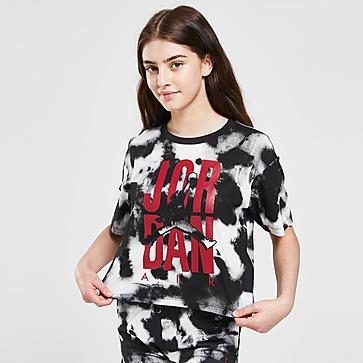 Jordan Meisjes Graphic Tie Dye T-shirt Junior