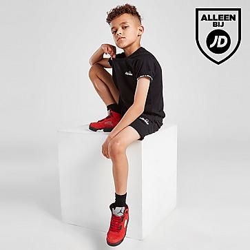Ellesse Pollios Tape T-shirt/Shorts Set Kinderen