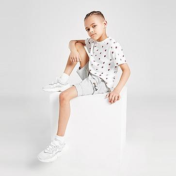 Fila Oskar All Over Print T-shirt/Shorts Set Kinderen
