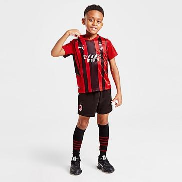 Puma AC Milan 2021 Thuis Voetbaltenue Kinderen
