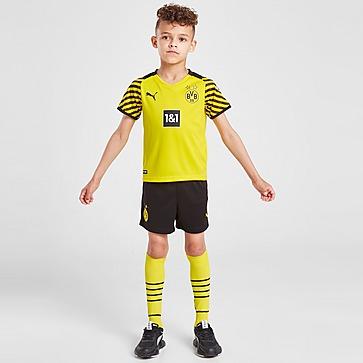 Puma Borussia Dortmund 2021/22 Thuis Voetbaltenue Kinderen