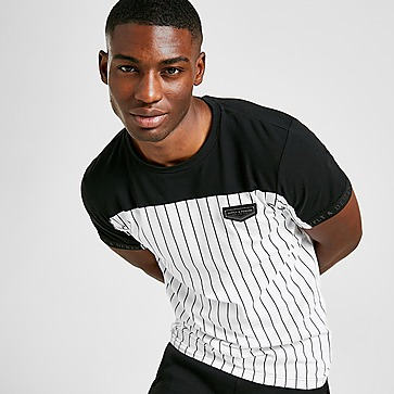Supply & Demand Duo Pinstripe T-shirt Heren