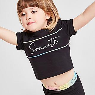 Sonneti Meisjes Micro Eden T-shirt/Legging Set Baby's