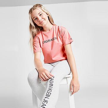 Calvin Klein Meisjes' Institutional Box T-Shirt Junior