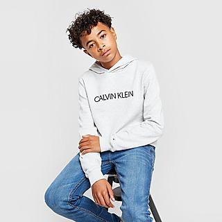 Calvin Klein Institutional Logo Overhead Hoodie Junior