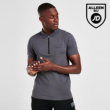 Emporio Armani EA7 Zip Polo Shirt