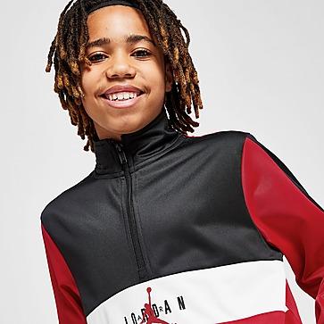 Jordan 1/2 Zip Tricot Tracksuit Junior