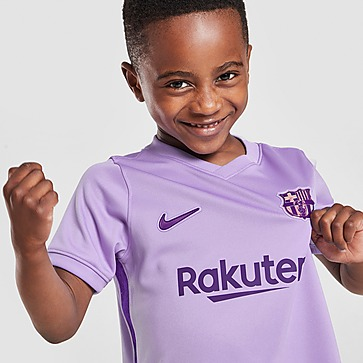 Nike FC Barcelona 2021/22 Uittenue Kinderen