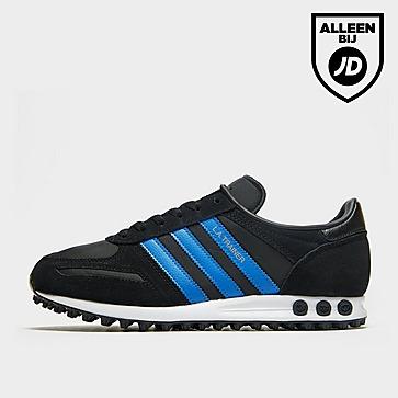 adidas Originals La Trnr Blk/blu/gld$