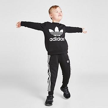 adidas Originals Trefoil Crew Tracksuit Children