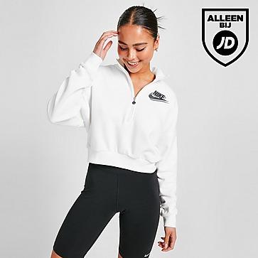 Nike Double Futura 1/4 Zip Trainingtop Dames