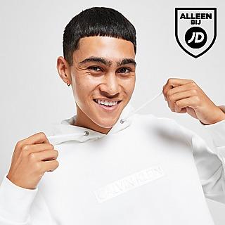 Calvin Klein Embossed Box Logo Hoodie