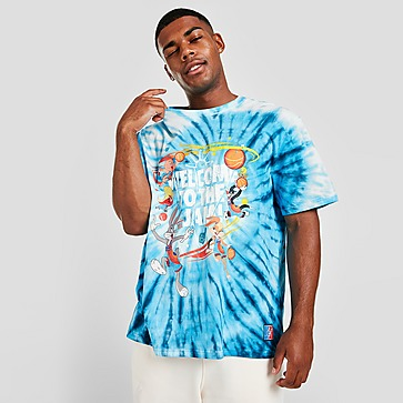 SikSilk x Space Jam Tie Dye T-Shirt Heren