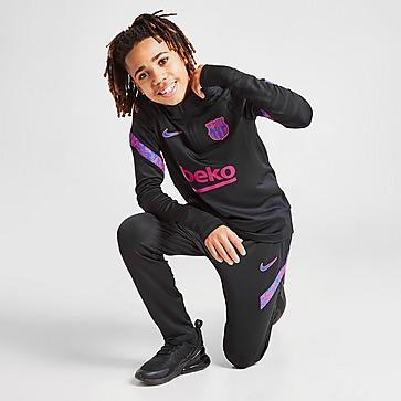 Nike FC Barcelona Strike Drill Training Top Junior