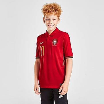 Nike Portugal 2020 B.Fernandes #11 Home Shirt Junior