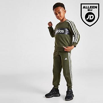adidas Linear Essential Crew Trainingspak Kinderen