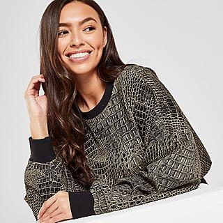 adidas Originals All Over Print Animal Crew Sweater Dames