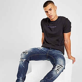 Supply & Demand Stripped Jeans