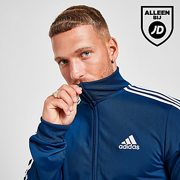 adidas Badge Of Sport 3-Stripes Poly Training Top Heren