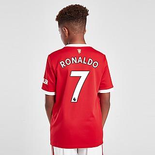 adidas Man United FC 21/22 Ronaldo #7 Home Shirt Jnr