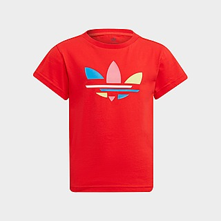 adidas Originals Girls' Essential Trefoil T-Shirt Junior