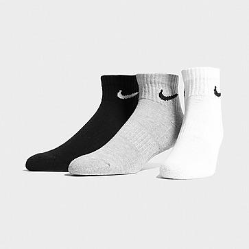 Nike Pack de 3 pares de meias Lightweight Quarter