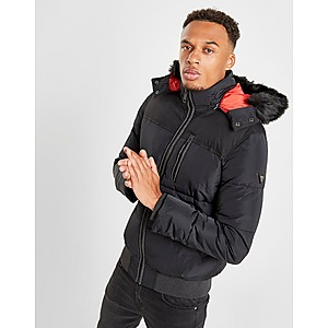 Guess Casaco Long Fur Puffer | JD Sports