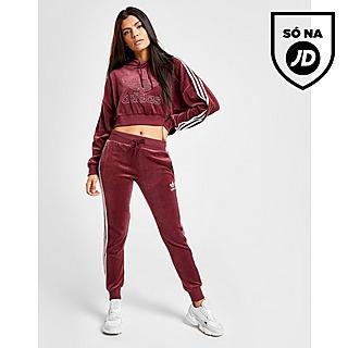 Mulher Vermelho Adidas Originals Calças Desportivas | JD