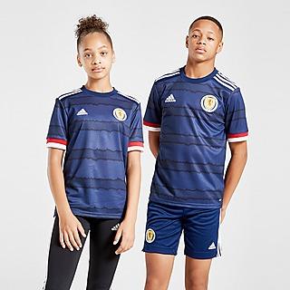 adidas T-shirt do Equipamento Principal Scotland 2020 para Júnior