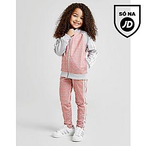adidas Originals Fato de treino Girls' Geometric Superstar para Criança