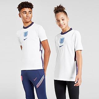 Nike T-shirt do Equipamento Principal England 2020 para Júnior