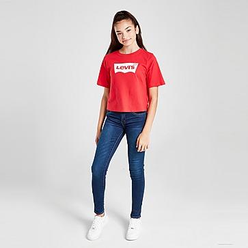 Levis T-Shirt Girls' Bright Crop para Júnior