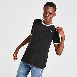 Fred Perry T-Shirt Taped Ringer para Júnior