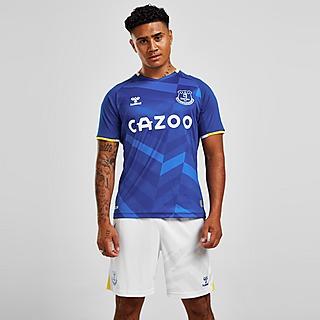 Hummel Calções do equipamento principal do Everton FC 2021/22