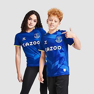 Hummel Camisola principal do Everton FC 2021/22 para Júnior