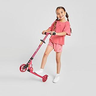 Nike Girls' Washed T-Shirt/Shorts Set Children