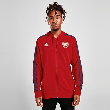 adidas Casaco com capuz Arsenal FC 3-Stripes Full Zip