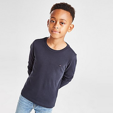 Tommy Hilfiger Small Flag Long Sleeve T-Shirt Children