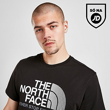 The North Face T-Shirt Large Split Gradient