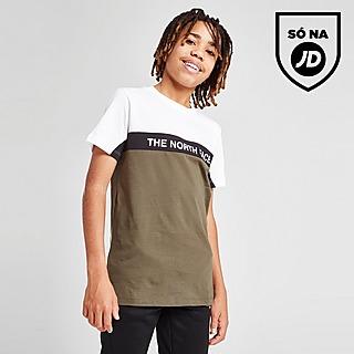 The North Face T-Shirt Colour Block para Júnior