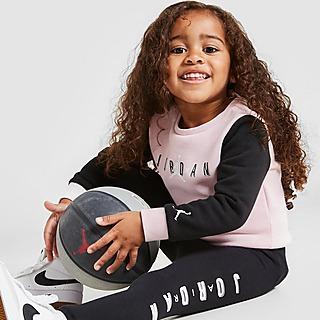 Jordan Conjunto Sweatshirt e Leggings Girls' Air para Bebé